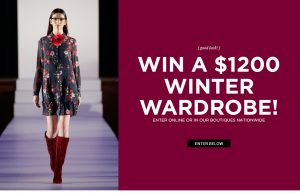 Alannah Hill – Win a $1,200 Winter Wardrobe