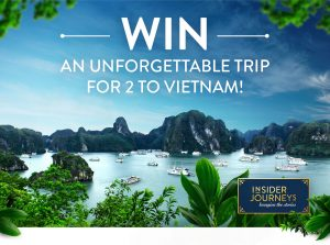 Channel Ten – The Living Room – Insider Journeys – Win a trip for 2 to Ho Chi Minh City, Vietnam valued at $15,000