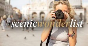 Scenic – Share Your Wonder Moment with #scenicwonderlist and Win 1 of 6 GoPro cameras monthly