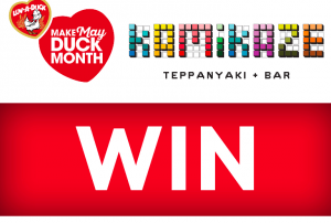 4BC 1116 News Talk – Luv-a-Duck Make May Duck Month – Win a Luv-a-Duck dining experience for 10 people