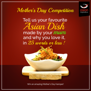 Asian Inspirations – Mother's Day – Win 1 of 3 Asian Food & Cooking products hampers