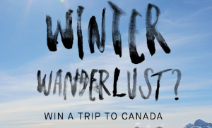 Billabong – Win a trip for 2 to Canada, on Gecko's Adventures Winter Festival Tour valued at up to AUD$12,340