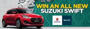 Channel 7 – House Rules – Win a Suzuki Swift GL Navi Automatic in Metallic Paint valued at $18,490