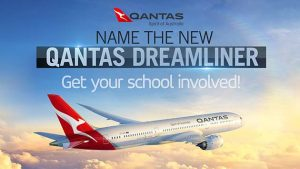 "Channel Seven – Sunrise ""Dreamliner Naming"" (for Australian primary & high schools) – Win 30 return flights to Sydney"