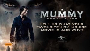 Channel Seven – Sunrise The Mummy – Win a trip for 2 to Sydney for a private theatrette screening of The Mummy