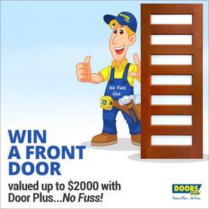 Doors Plus – No Fuss – Win a Front Door valued up to $2,000