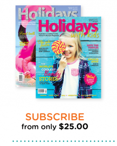 Holidays with Kids – Win one of many great prizes with Kids Volume 51