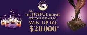 IGA – Cadbury's Joyful Debate – Win $20,000 cash prize