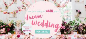 Lenzo – Win your dream wedding prize package valued at $31,053
