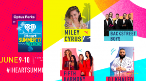 Optus – 2017 iHeartRadio Summer Pool Party – Win a trip for 2 to Miami, Florida to attend the event valued at up to AUD$12,000