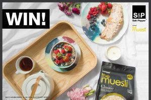 Salt & Pepper – Mother's Day – Win 1 of 10 prize packs valued at AUD$231 each