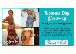 Sequins & Sand Resortwear – Win over $700 of goodies for Mother's Day