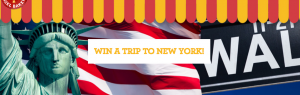 Abe's Real Bagels – Win a trip for 2 to New York City, USA valued at up to AU$10,000 OR 1 of 5 Dualit 4 Slice Toasters