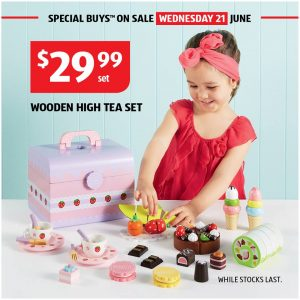 Aldi – Wooden Toys – Win 1 of 8 Wooden Toy sets