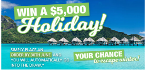 Australian NaturalCare – Win a $5,000 Holiday