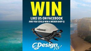 Design RV – Win a new Weber Baby Q