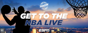 ESPN Australia – Hahn Super Dry Random Chance – Win a trip for 4 to Los Angeles to attend NBA games and ESPN SportsNation sit in