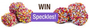 Haigh's Chocolates – Win 1 of 15 Specktacular Speckle prizes
