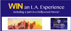 Mike Da Silva & Associates (MDSA) – Win a trip for 2 to Los Angeles to be a part in a Hollywood Movie valued at $10,000