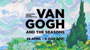 "Nine Network – Nine Digital – 9 Now – Postcards-National Gallery of Victoria – Win 2 tickets to ""Van Gough & the Seasons"""