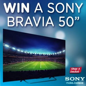 Opentop – Shop a Docket – Win a Sony Bravia HDTV 50″