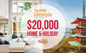 Radio 2UE Sydney – Talking Lifestyle's Home and Holiday – Win a $10,000 holiday for 10 nights in Japan for 2 plus $10,000 to put towards your home
