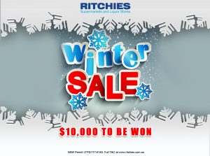 Ritchies Supermarkets – Win a $10,000 cash prize