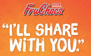 Robern Menz – Share Your Fruchocs – Win Weekly prizes of a Menz Fruchocs Family Box OR 1 of 2 prizes of a years supply of Fruchocs and more