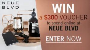 Channel Seven – Sunrise Family Newsletter – 'Neue BLVD' – Win a $300 BLVD e-Voucher