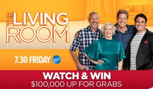 Channel Ten – The Living Room – Shop A Docket – Watch & Win – Win 1 of 10 cash prizes of $10,000 each