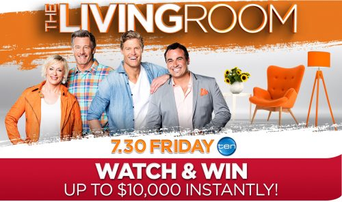 Channel Ten – The Living Room – Watch & Win $10,000 Instantly with Shop A Docket