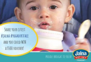 Mouths of Mums – #jalna #yoghourtface – Win a $500 prepaid Visa card thanks to Jalna