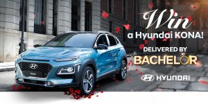 Network Ten – The Bachelor Hyundai – Win a prize package including a Hyundai Kona, Highlander variant valued at up to $45,000