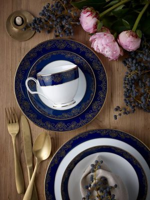 Noritake (Australia) – Win a Glacier Platinum 20pc Dinner Set OR Lazurite Gold 20pc Dinner Set valued at $750
