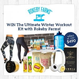 Rokeby Farms – Winter Workout – Win a Winter Workout prize pack valued at $494