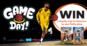 Allen & Unwin – Patty Mills Game Day – Win a Family trip of 4 to the USA to see Patty Mills Play valued at up to $15,000AUD