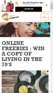 Arn 4kq – Win A Copy Of Living In The Seventies Vol 4