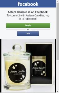 Astara Candles –  Win A Sandalwood Candle?