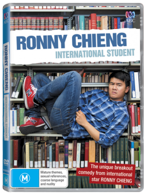 Aussie Comedy Kingdom –  Win 1 Of 5 Copies Of The New ABC Comedy Series Ronny Chieng: International Student On DVD (prize valued at $100)