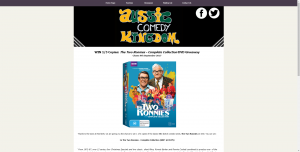 Aussie Comedy Kingdom –  Win This Collection On Dvd All You Have To Do Is Fill Out Your Details In The Form Below And You're On Your Way To Victory