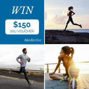 Biorevive –  Win The Fitness Gear You've Been Waiting For And Get Motivated  (prize valued at  $150)