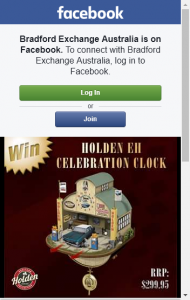Bradford Exchange Australia –  Win Just 'like' Our Facebook Page 'share' This Post And Comment 'win' Below  (prize valued at  $300)