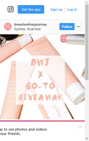 Breastwishesjourney – Win One Of Two Gotoskincare Gift Packs