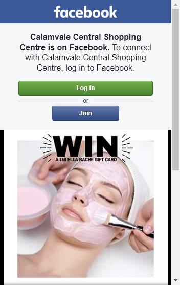 Calamvale Central –  Win a $50 Ella Baché Calamvale Gift Voucher