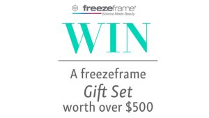 Channel 7 – Sunrise Family Newsletter – Win a freezeframe Skin Care Gift Set valued over $500