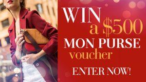 Channel Seven – Sunrise Family Newsletter 'Mon Purse' – Win a $500 Mon Purse Online Voucher