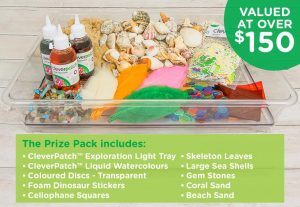 CleverPatch – Win an Exploration Light Tray prize pack valued over $150