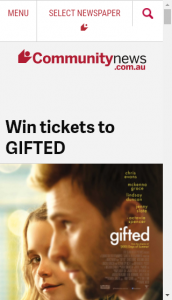 Community News –  Win 1 Of 25 Double In-Season Passes To See The Film