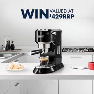 De'Longhi Australia – Win 1 of 2 Dedica Pump Espresso Coffee Machines valued at $429 each
