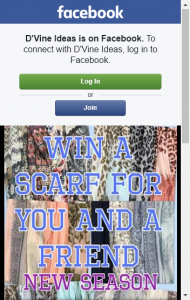 D'vine Ideas – Win A Scarf For Yourself And A Friend